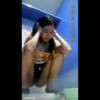 タイの学校トイレ盗撮 口を半開きにしていやらしい放尿