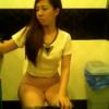 シンガポール洋式トイレ盗撮映像 6名 5人目の子が可愛い感じ