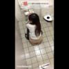 和式トイレ盗撮 危険な空爆アングルでバレそうになる?