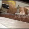 和式トイレ盗撮 斜め前 ベージュヒールお姉さんの勢いの良い放尿シーン