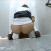 和式トイレ盗撮 後ろから JKのきれいなお尻と放物線