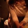洋式トイレ盗撮 フロントアングル 喫茶店の洋式トイレで用足しするお姉さんたち