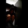 【和式トイレ盗撮】画面かなり暗めの美女の脱糞シーン