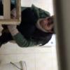 【和式トイレ盗撮】素朴な雰囲気の美女おねえさんのトイレシーン