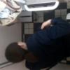 【洋式トイレ盗撮】3名 制服ちゃんとポニテのお姉さん2人