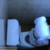 【洋式トイレ盗撮】正装お姉さんの脱糞タイム