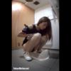 【和式トイレ盗撮】9名の若い女性の放尿シーン