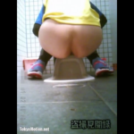 【マラソン会場和式トイレ盗撮】3名の女性のトイレシーン