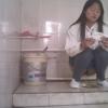 【和式トイレ盗撮】白ブラウスの中華美人の放尿シーン
