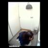 【和式トイレ盗撮】2名のかわいい女の子一人目3カメ二人目2カメで撮影