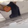 【和式トイレ盗撮】7名の若いお姉さんたちの鮮明放尿シーン