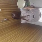 【韓国洋式トイレ盗撮】グレースーツのお姉さんの放尿シーン