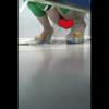 【中華和式トイレ盗撮】4名 ハイヒール女性たちの放尿ラッシュ