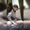 【洋式トイレ盗撮】2名 可愛い子がトイレでまさかのオナニー!