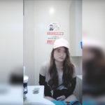 【洋式トイレ盗撮】ロングヘアーキャップギャルのいきみふんばりタイム