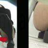 【韓国和式トイレ盗撮】女の子のおしっこ&大量脱糞シーン2アングル
